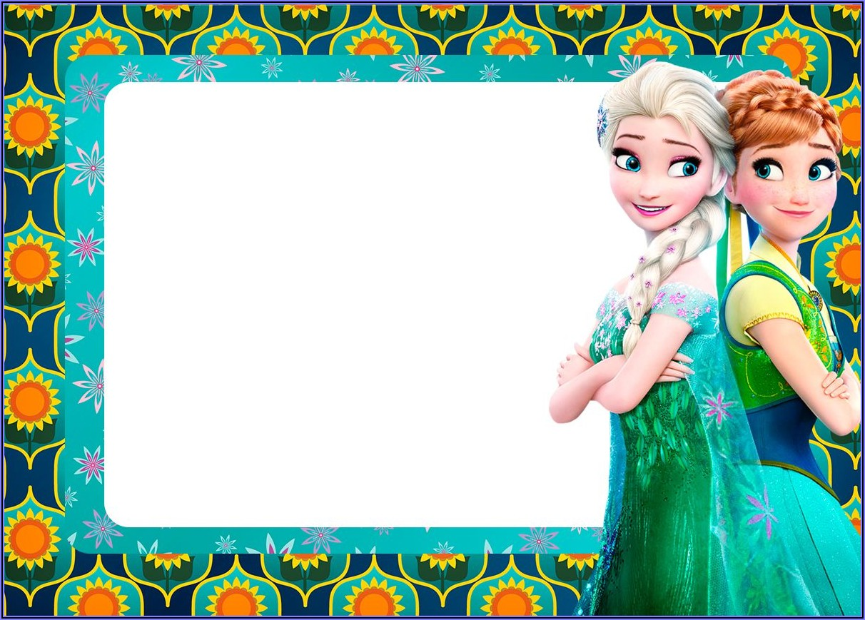 Frozen Fever Invitation Templates Free Download