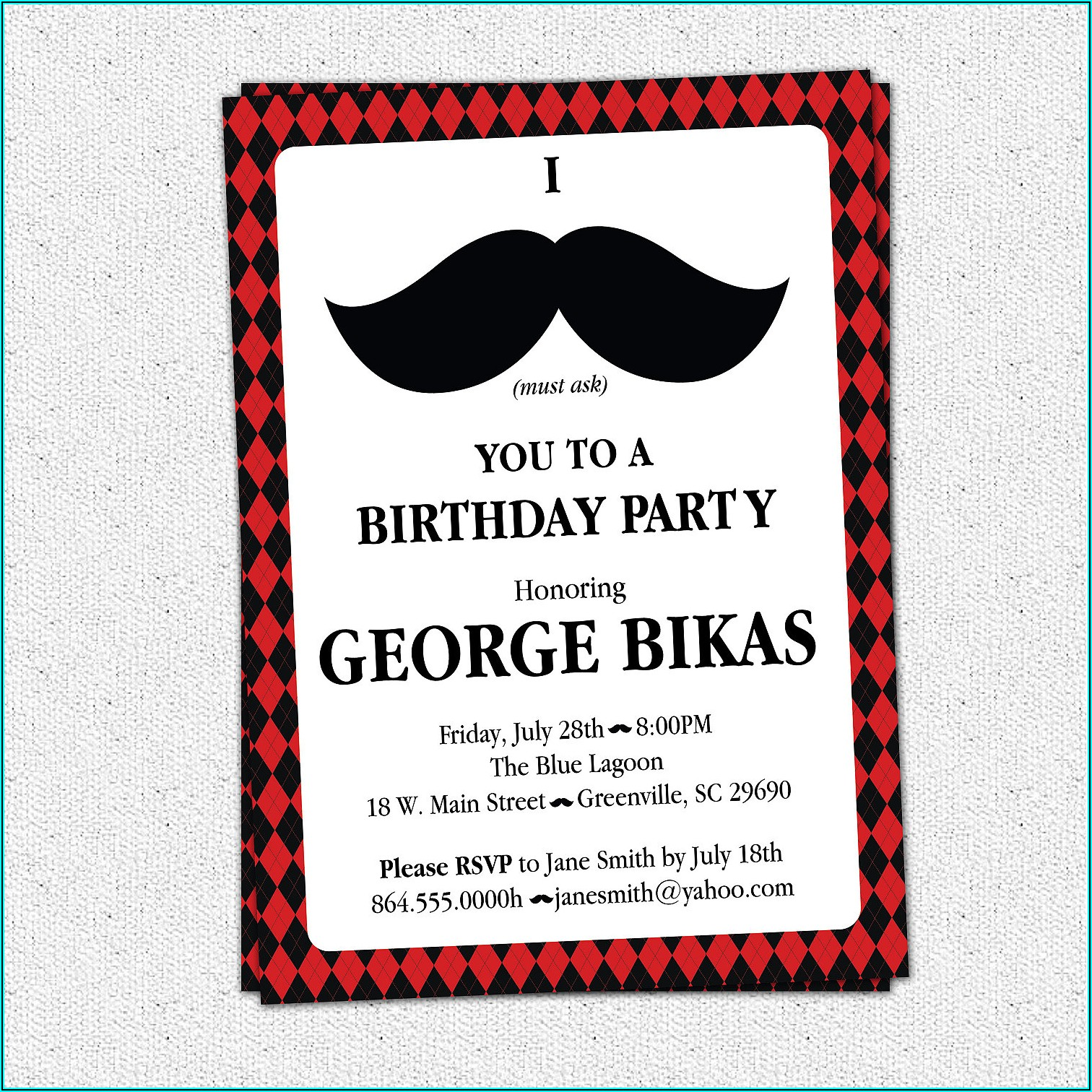 Funny 50th Birthday Invitation Wording For Him