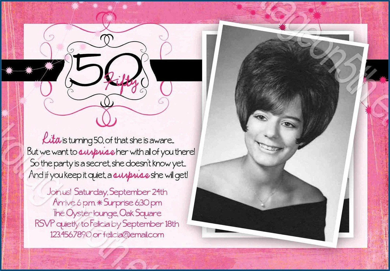 Funny 60th Birthday Invitation Ideas