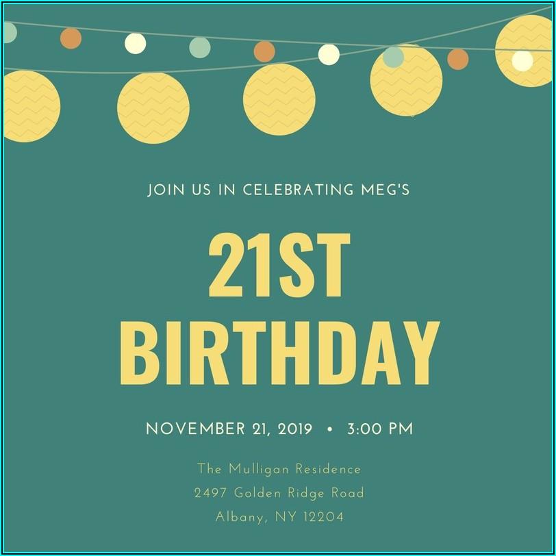 Funny Birthday Invitation Wording Facebook