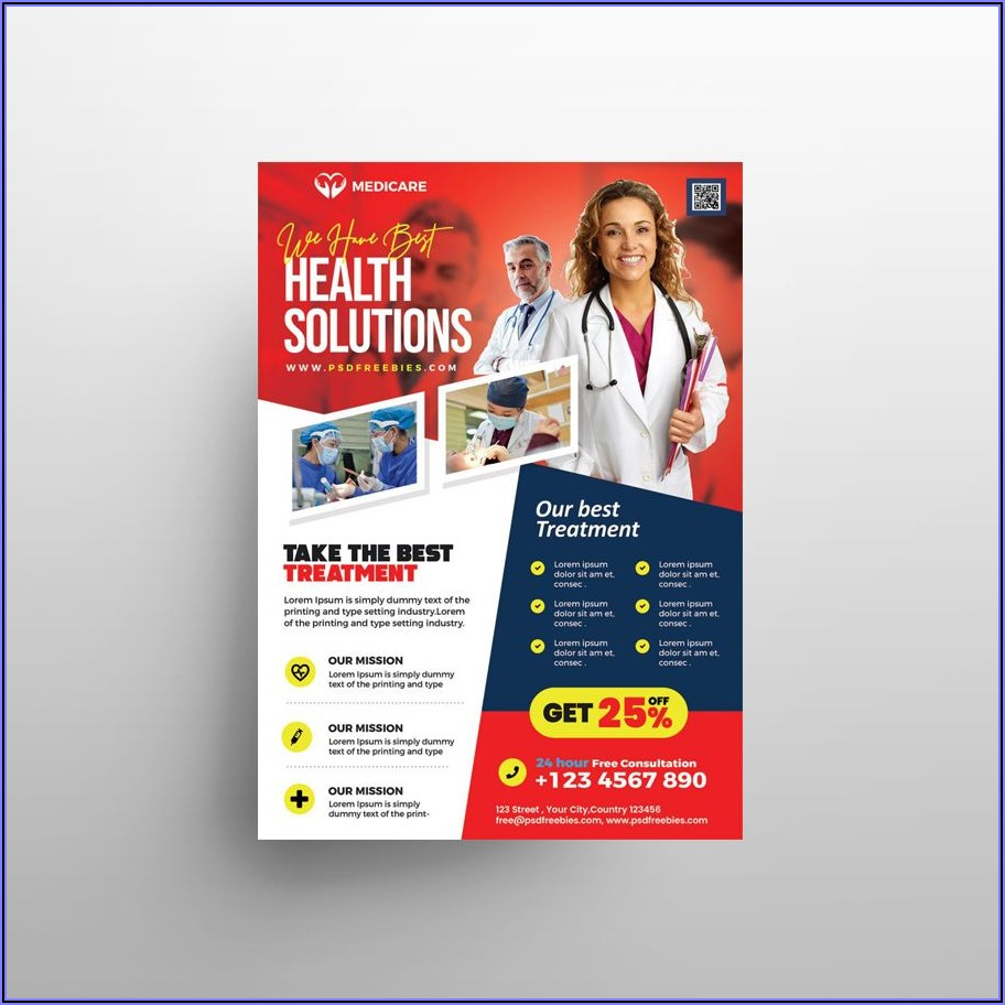 Health Care Flyer Template Free