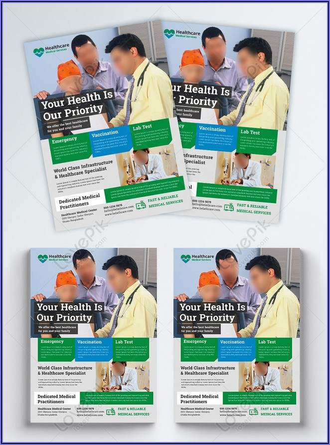 Healthcare Flyer Template Free Download