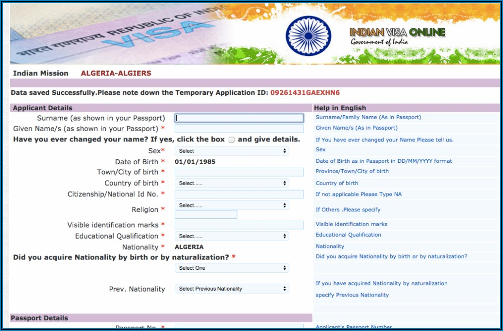 Indian Visa Fees For Us Citizens