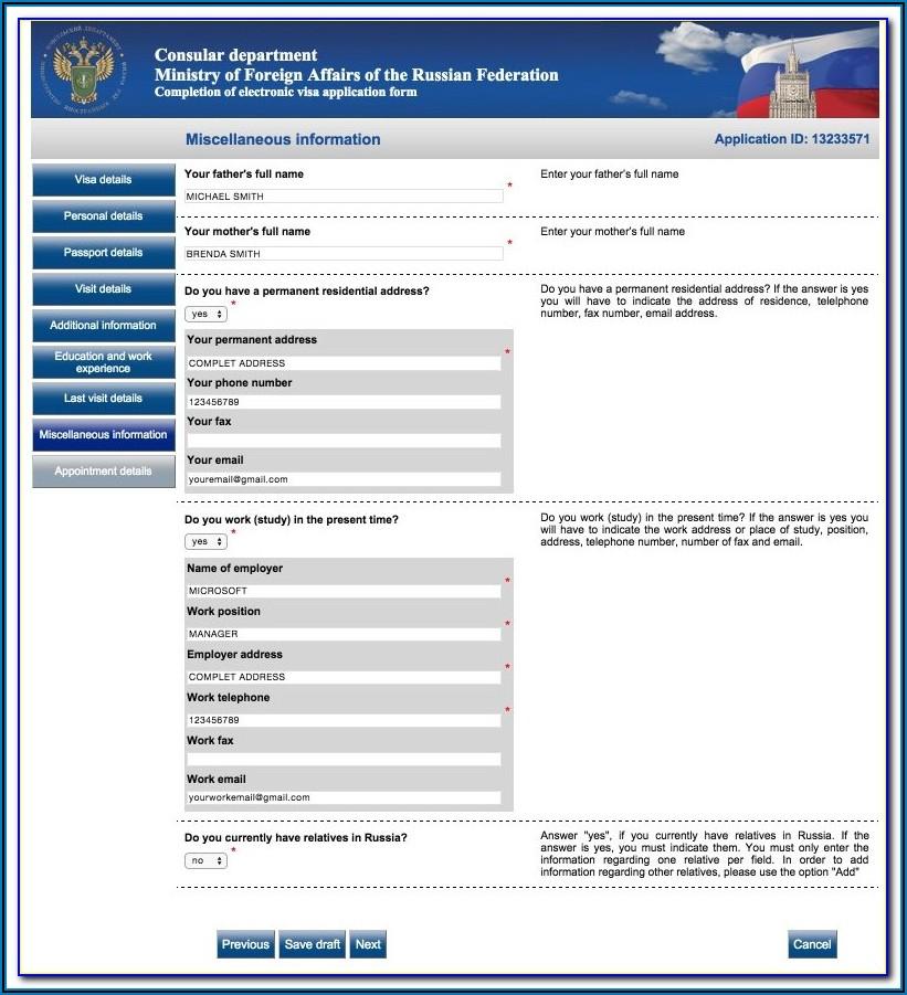 Indian Visa For Us Citizen Application Form