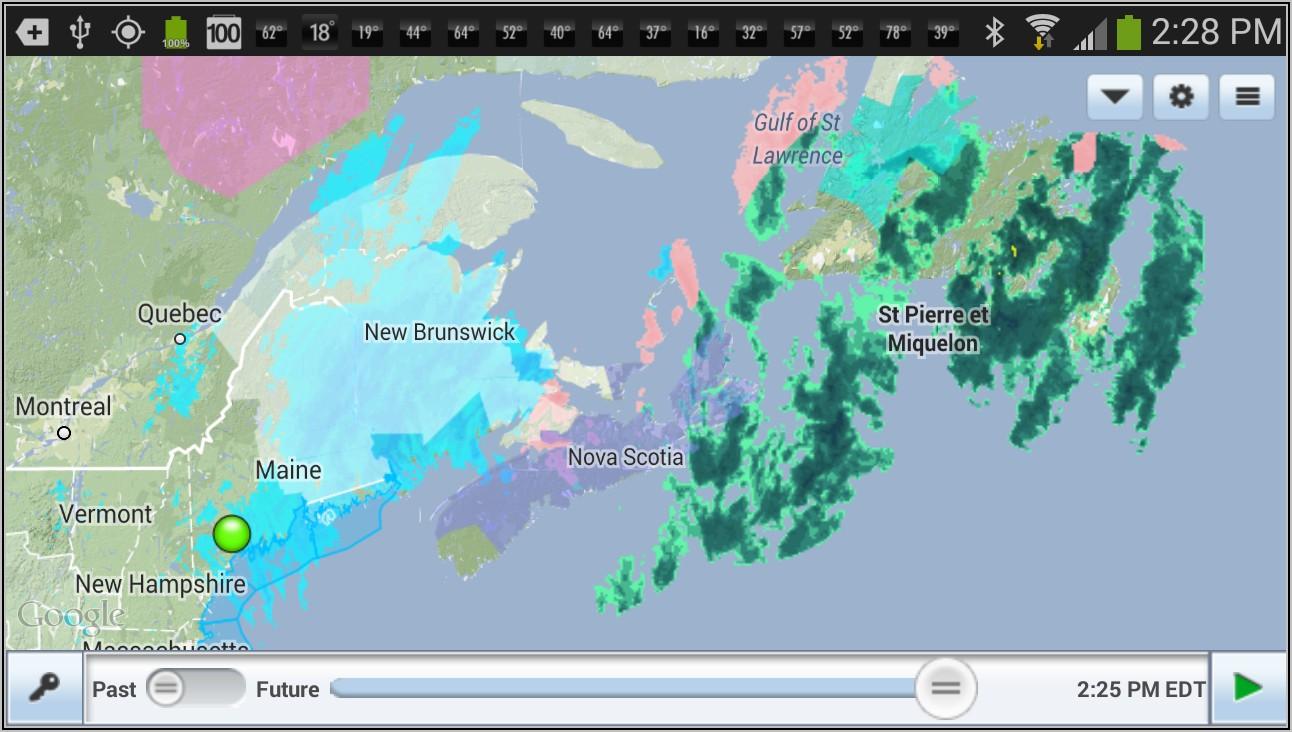 Intellicast National Radar Weather Map