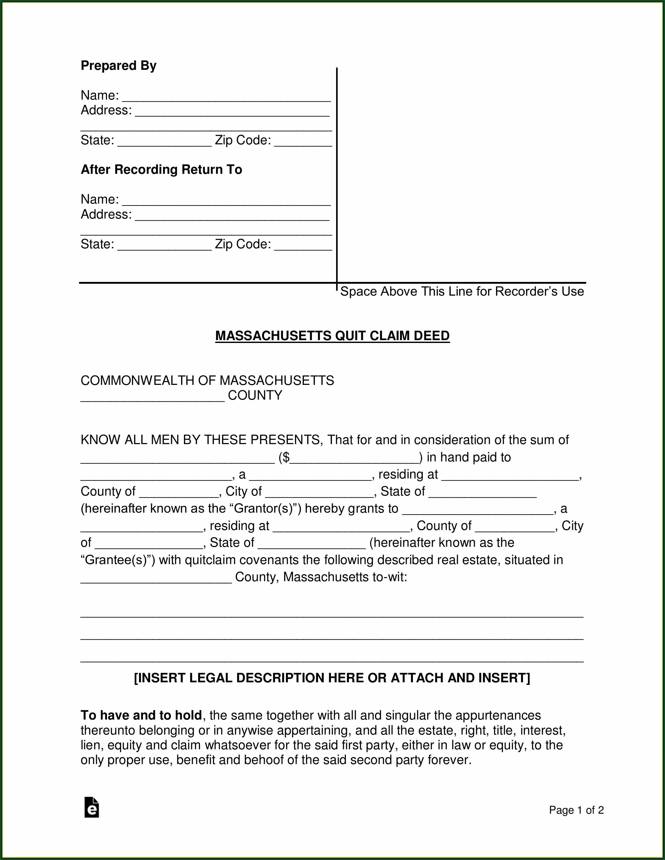 Interspousal Transfer Grant Deed Form California