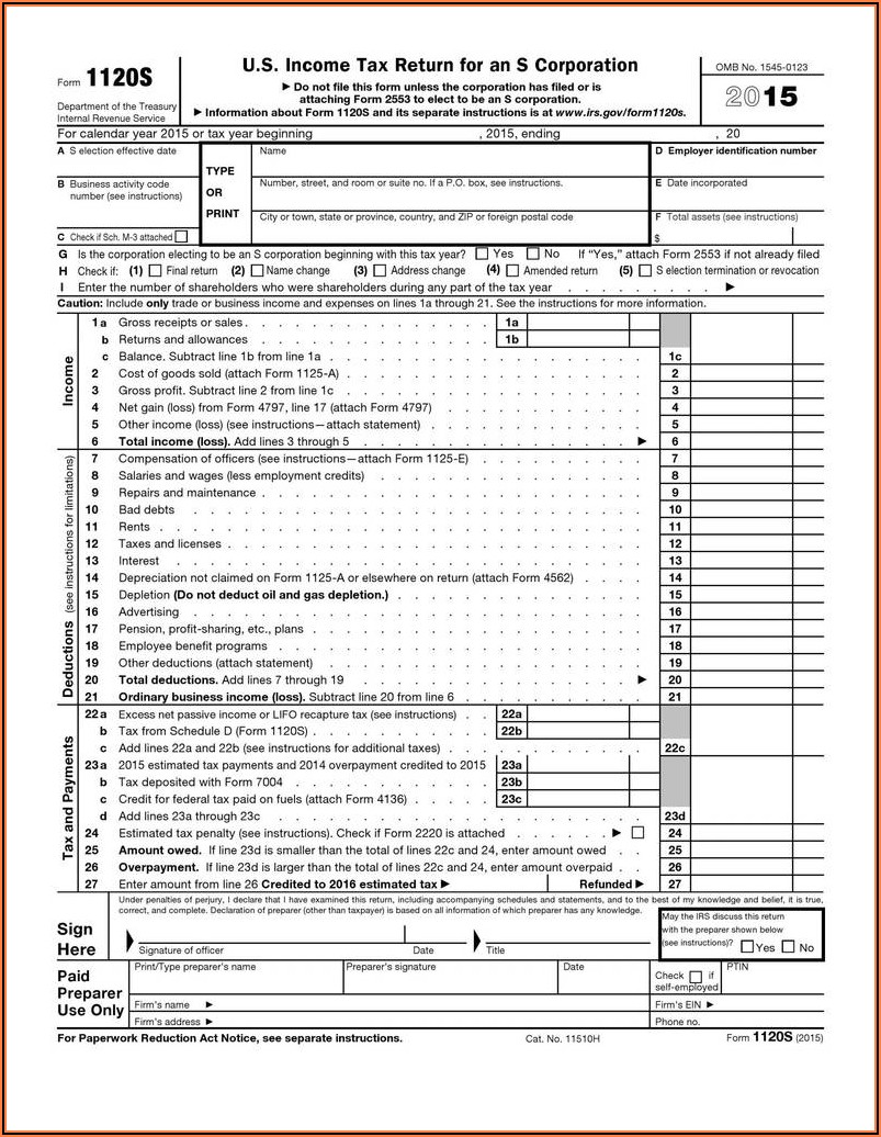 Irs Tax Forms 2012