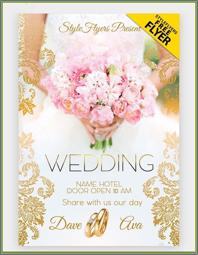 Jewish Wedding Invitation Template Free