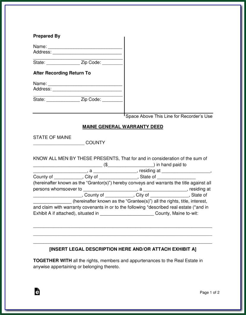 Joint Tenancy Deed Form California