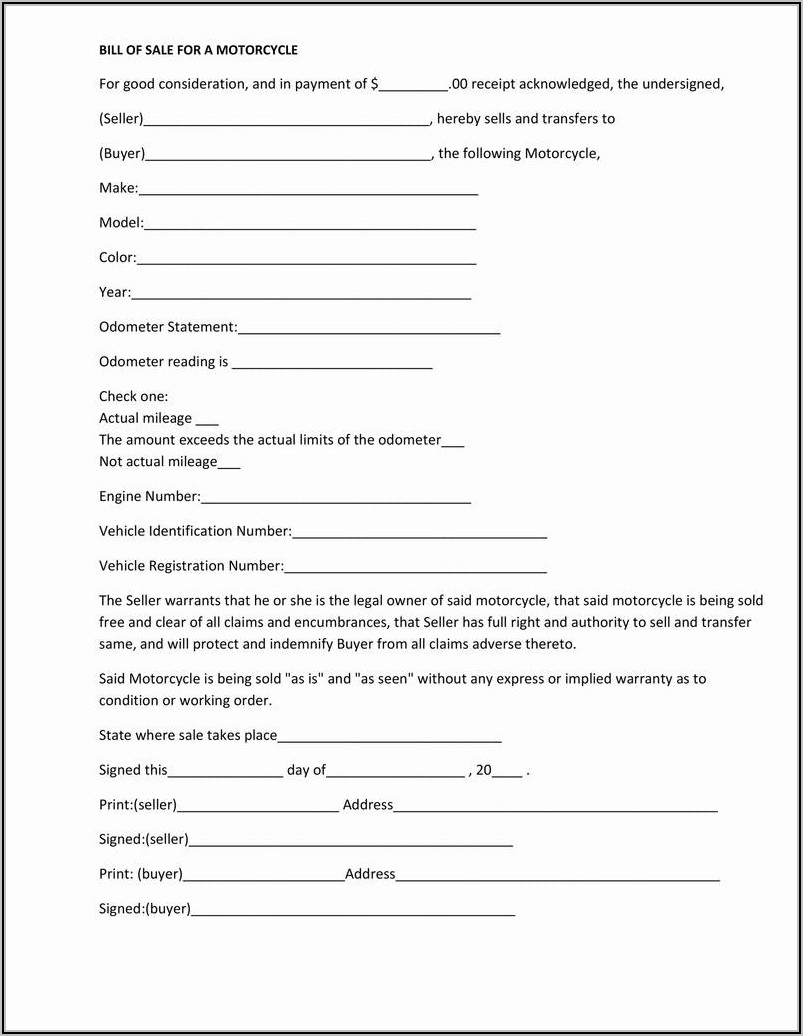 Last Will And Testament Texas Template