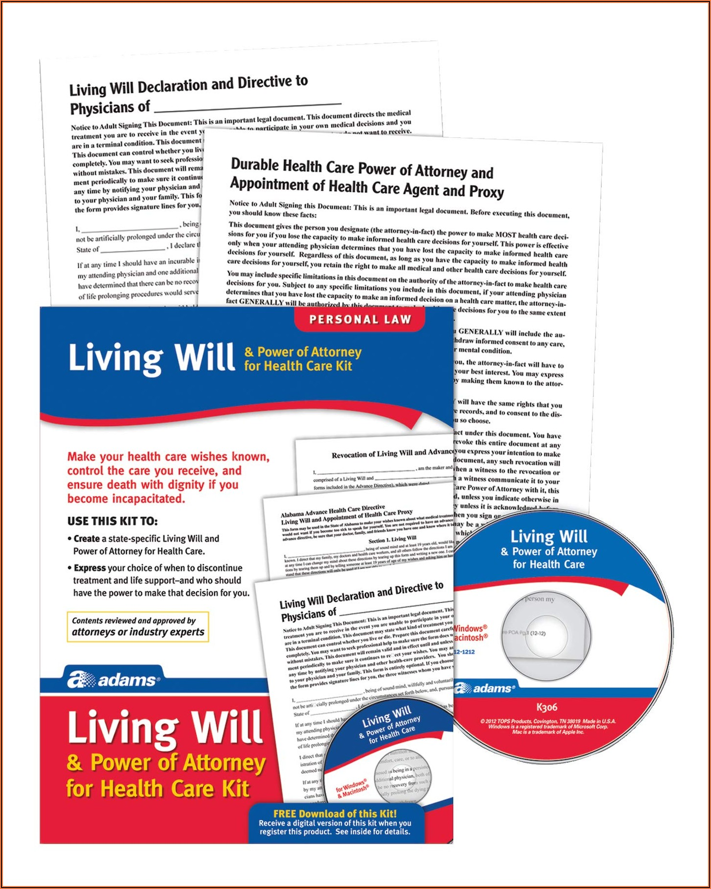 Living Will Power Of Attorney Forms