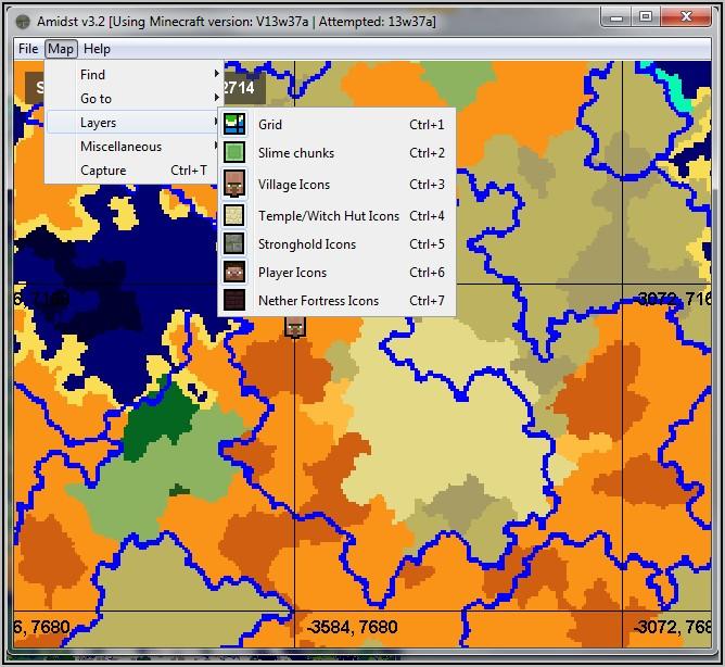 Locator Map Minecraft Recipe
