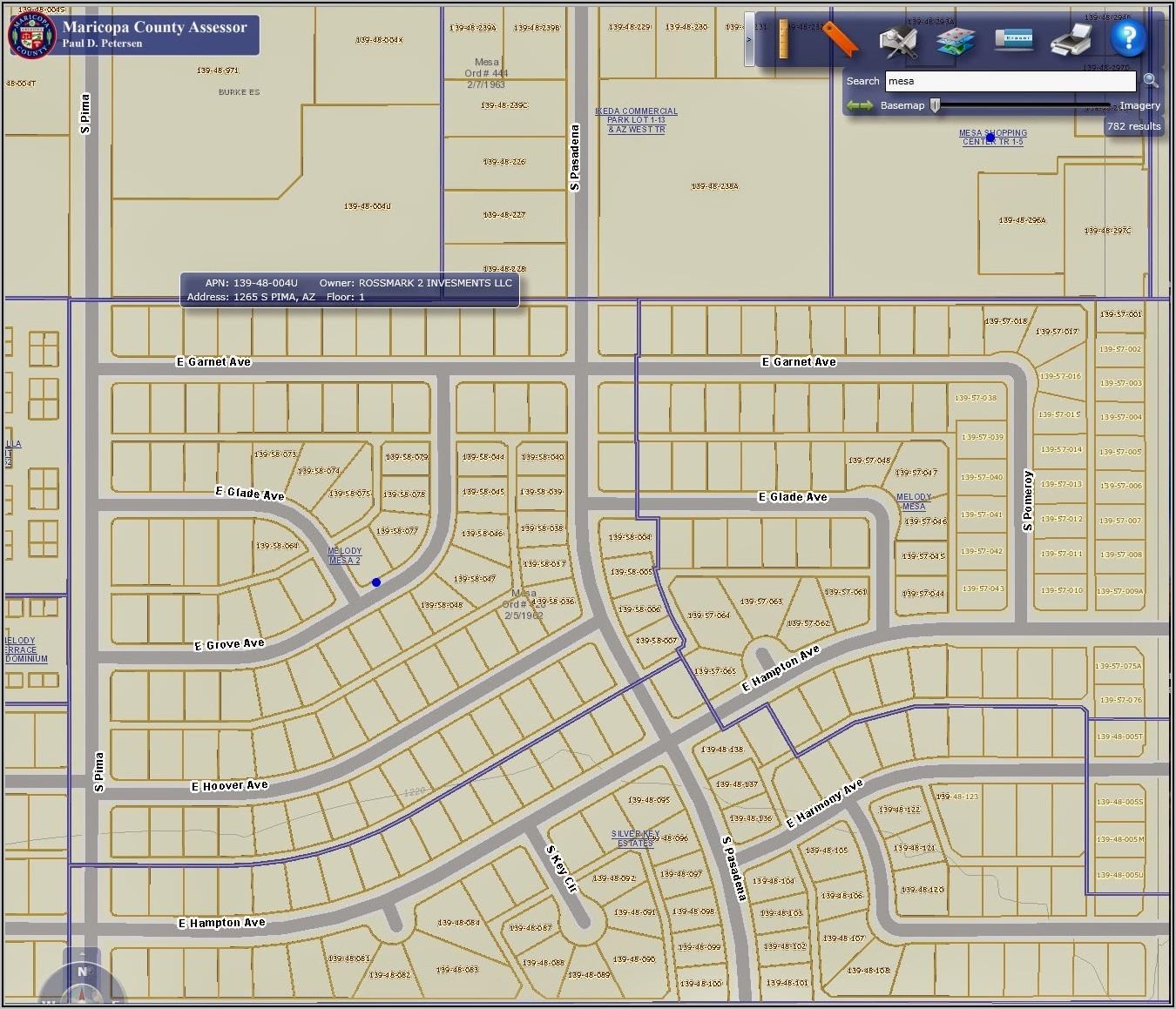Maricopa County Assessor Historical Maps