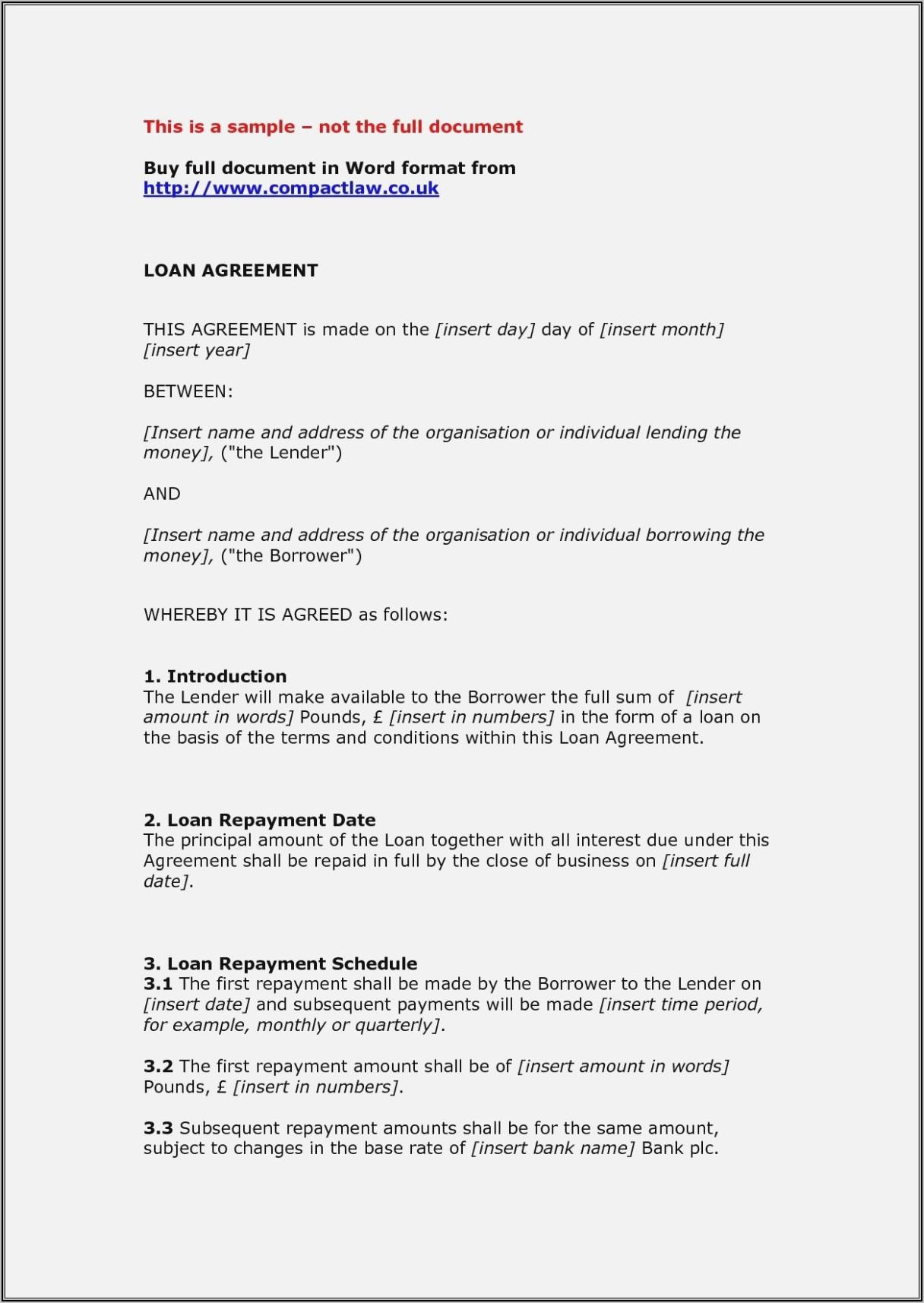 Marriage Settlement Agreement Template