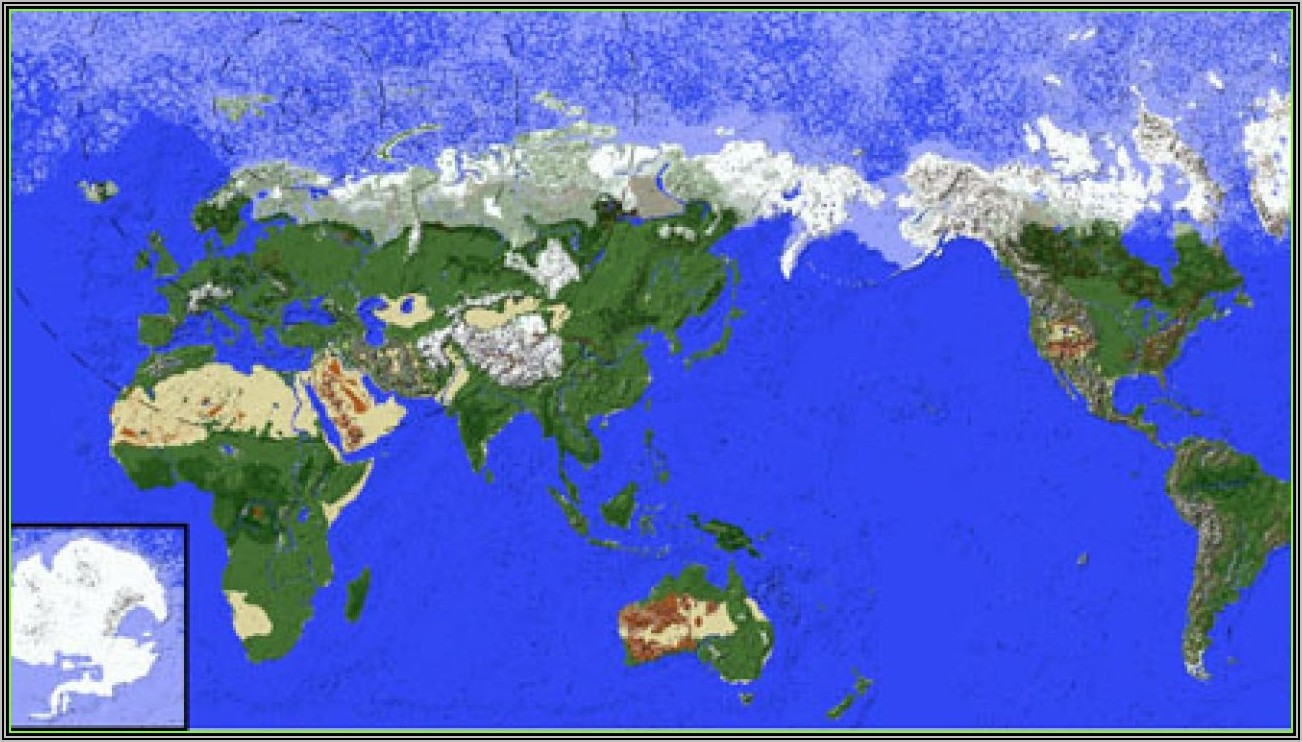 Minecraft Earth Map Download 1.14