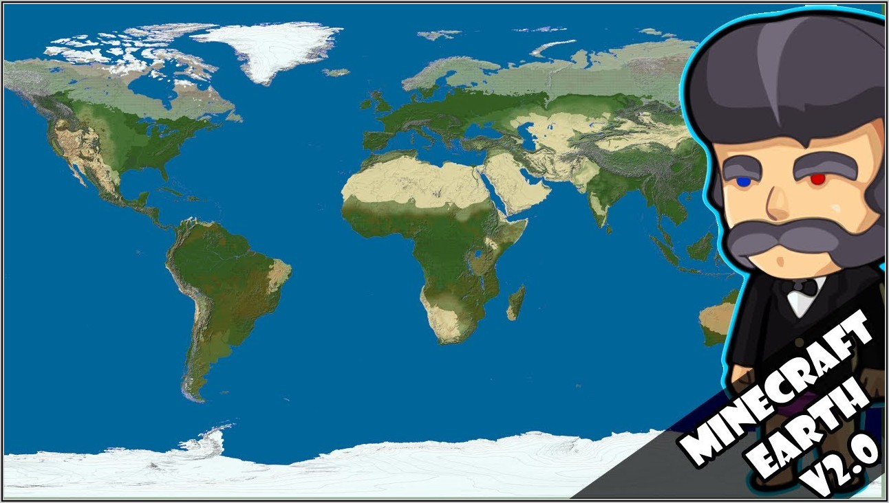 Minecraft Earth Map Download 1.15