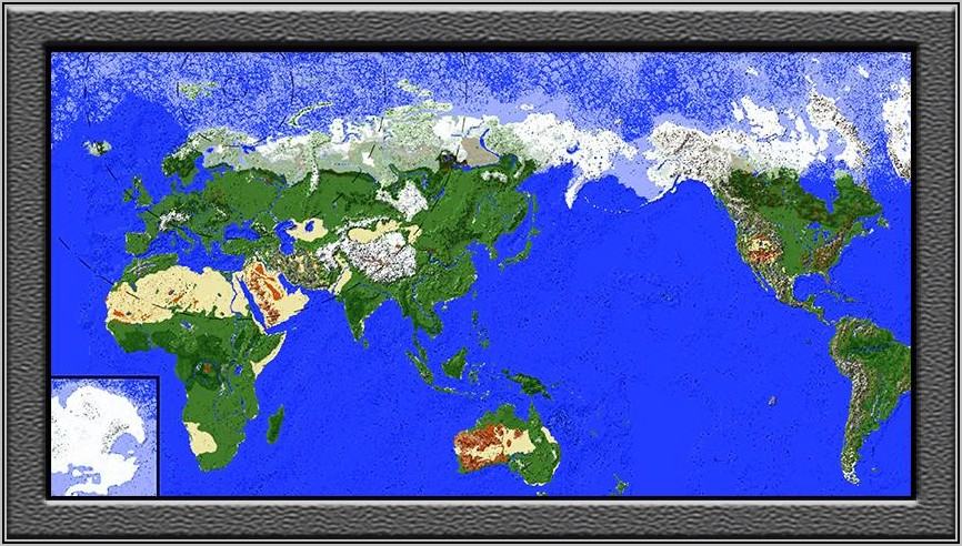 Minecraft World Map Download Pe