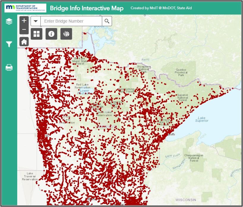 Mndot Traffic Mapping Application