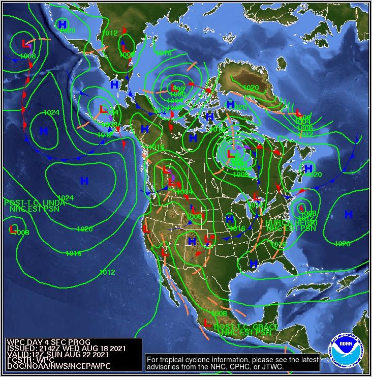 National Weather Radar Map Loop