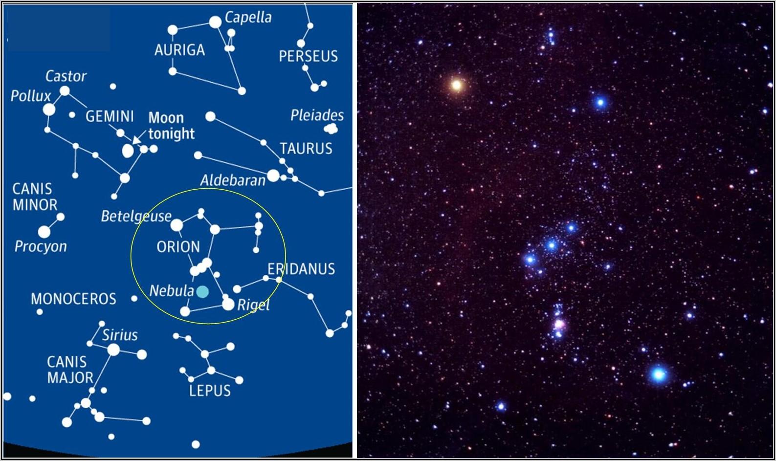 Night Sky Map Tonight Nz