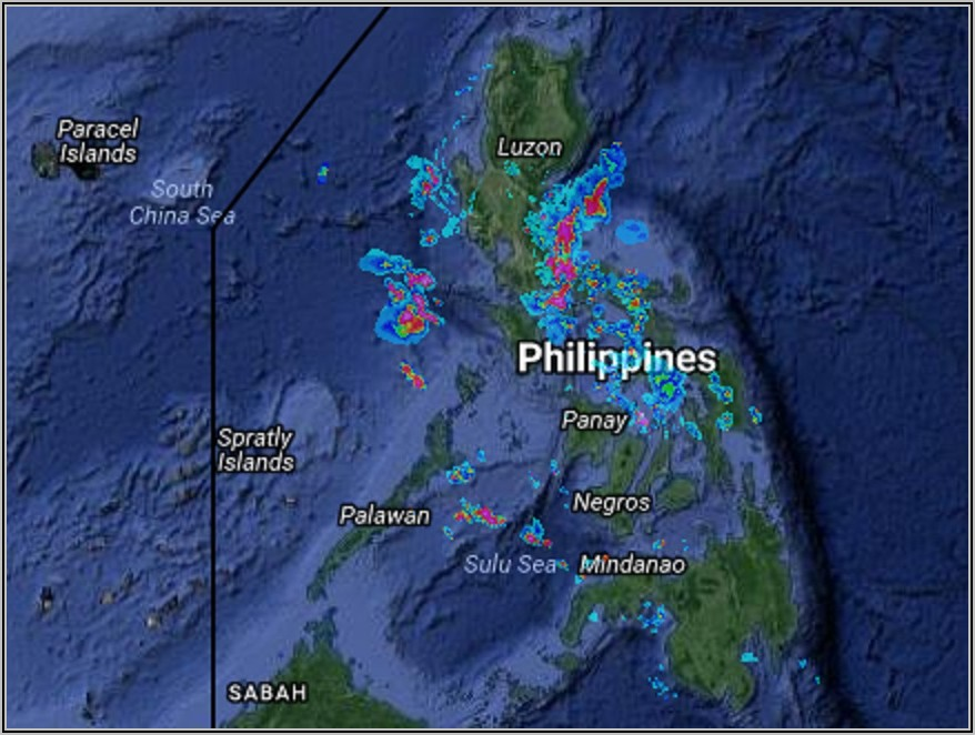 Pagasa Weather Forecast Philippines Map