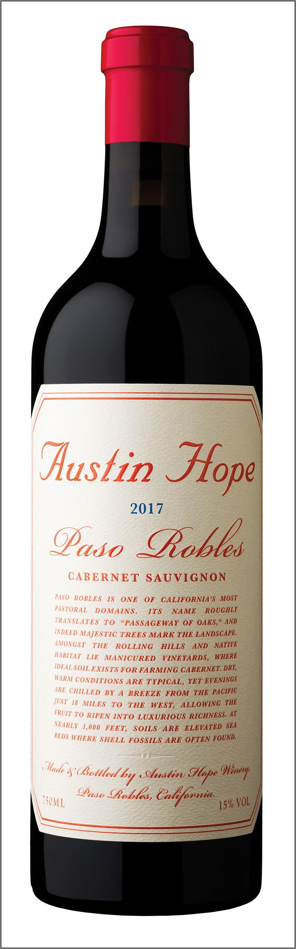Paso Robles Ava Wine Map