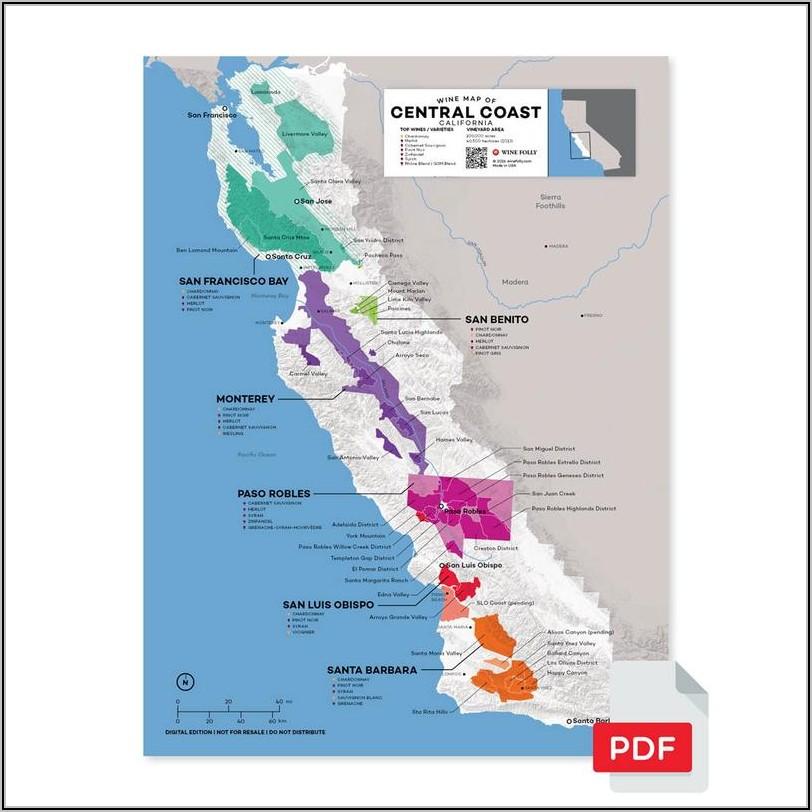 Paso Robles Wine Map Pdf