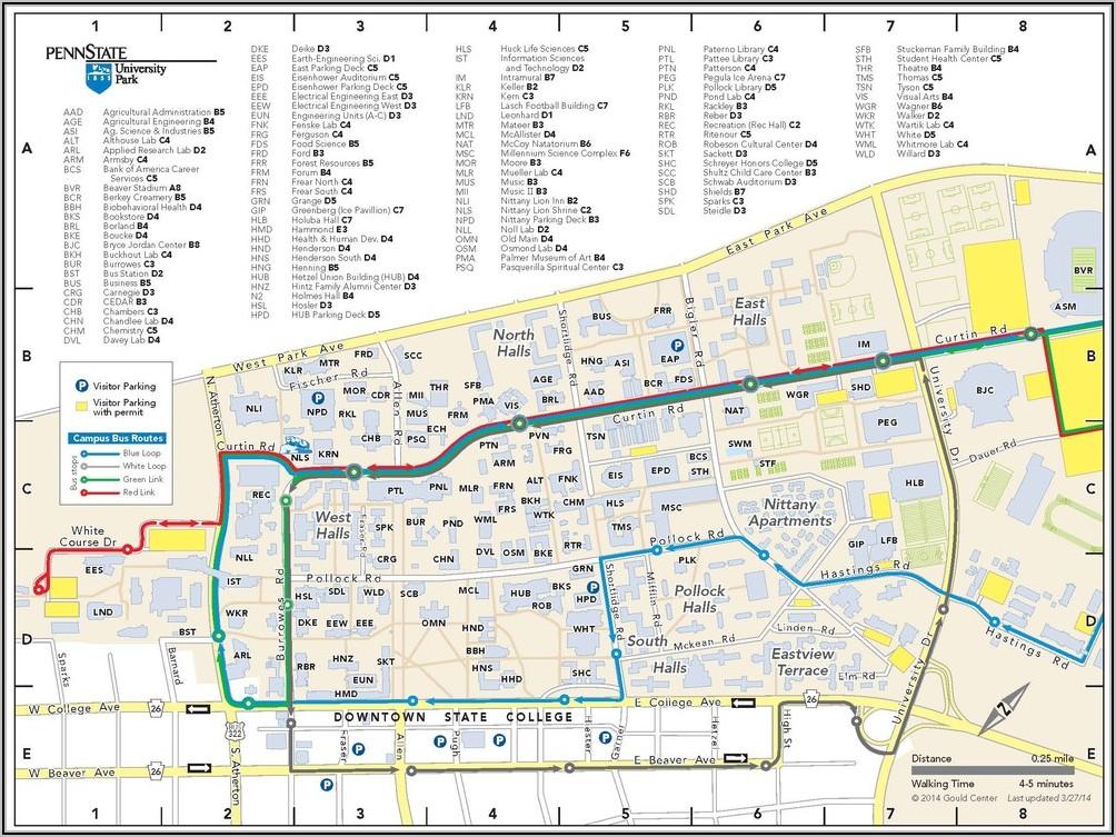 Penn State Berks Campus Map Pdf