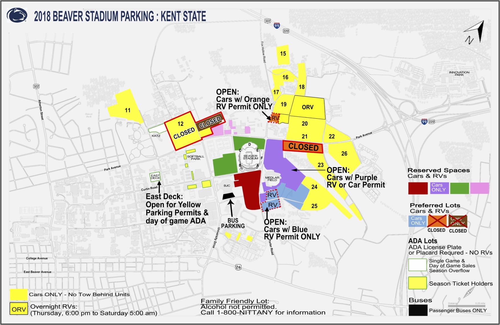 Penn State Campus Map 2018