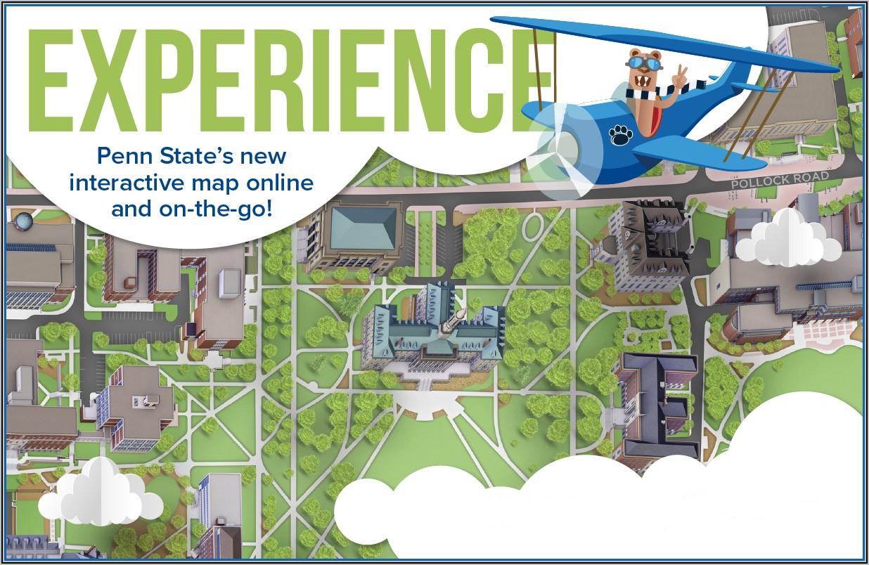 Penn State Harrisburg Campus Map