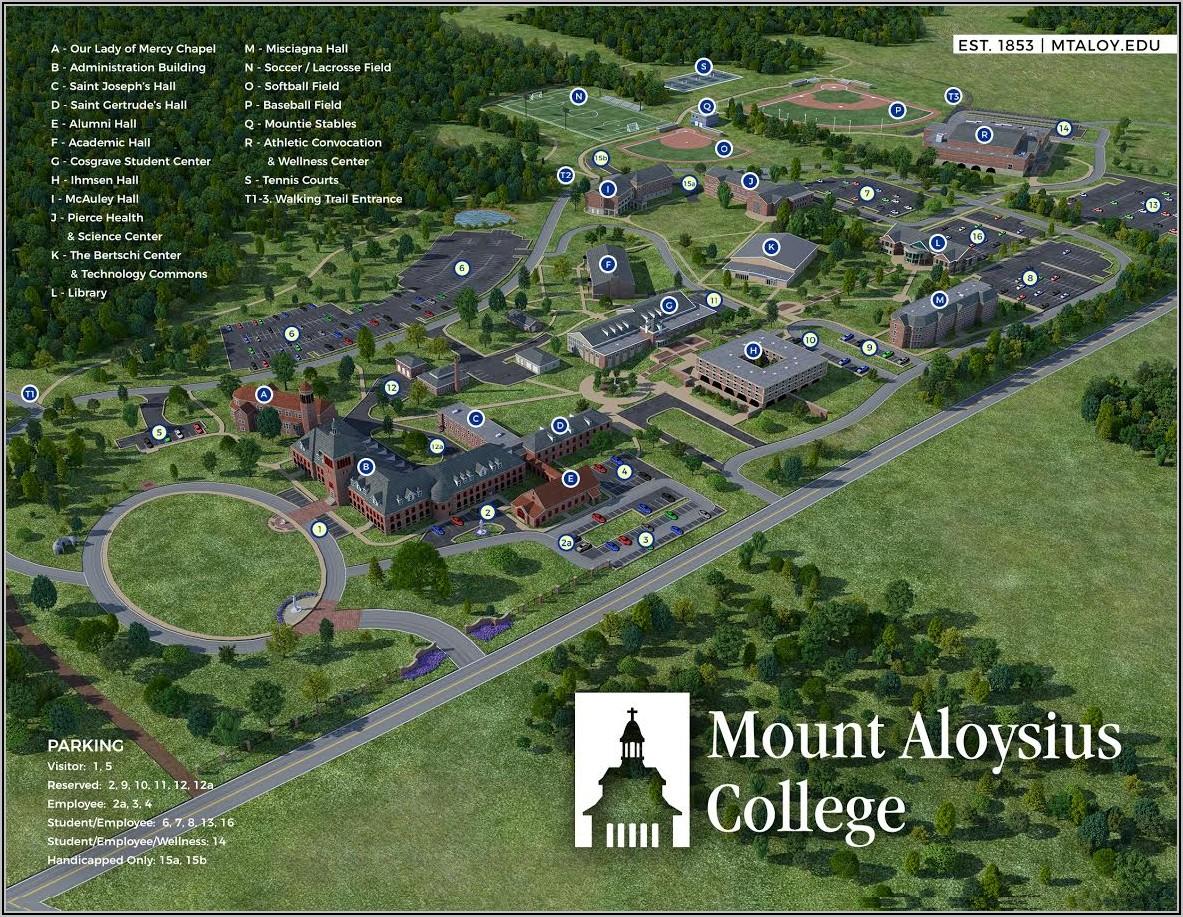 Penn State University Harrisburg Campus Map