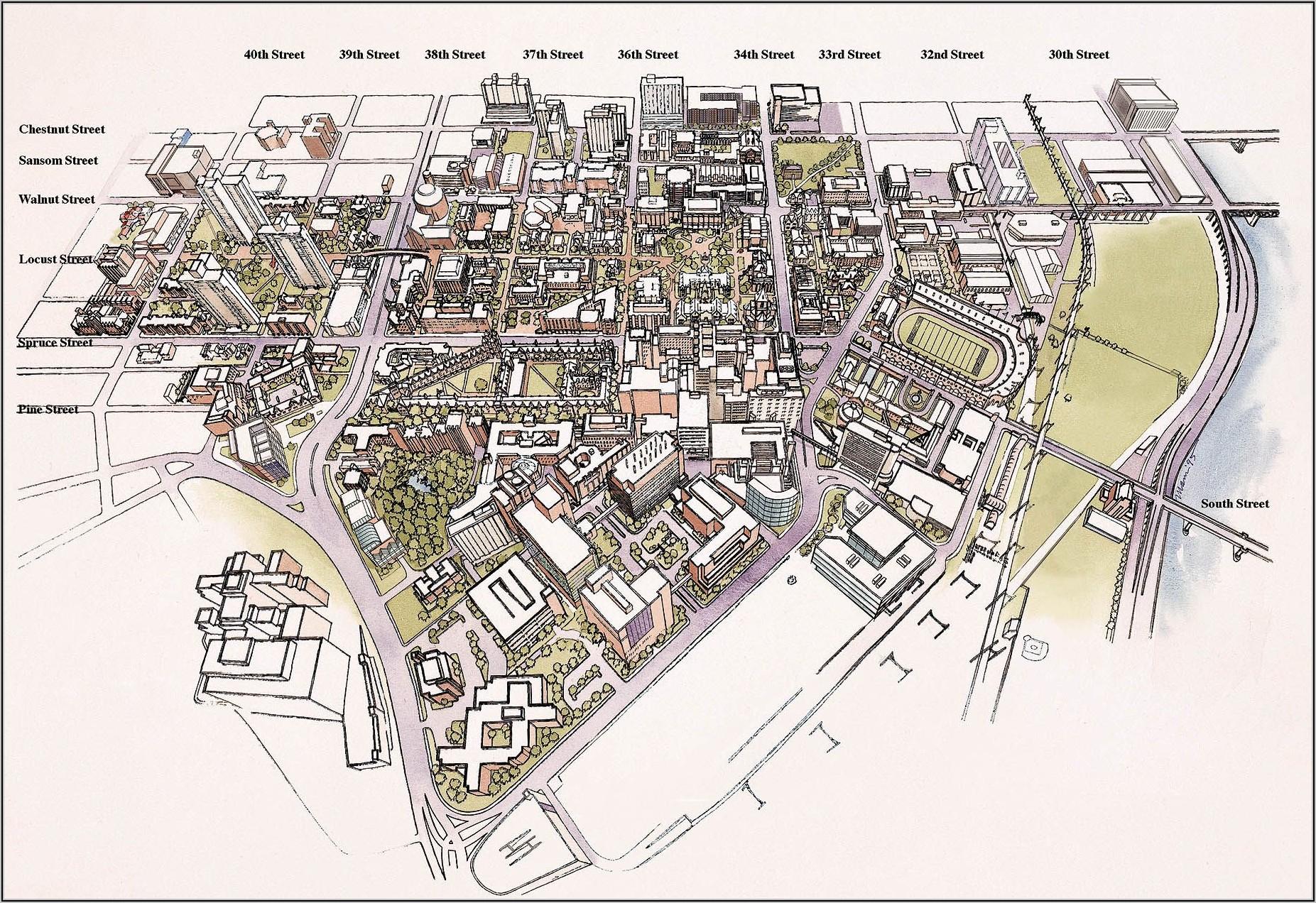 Penn State University Park Campus Map 2018