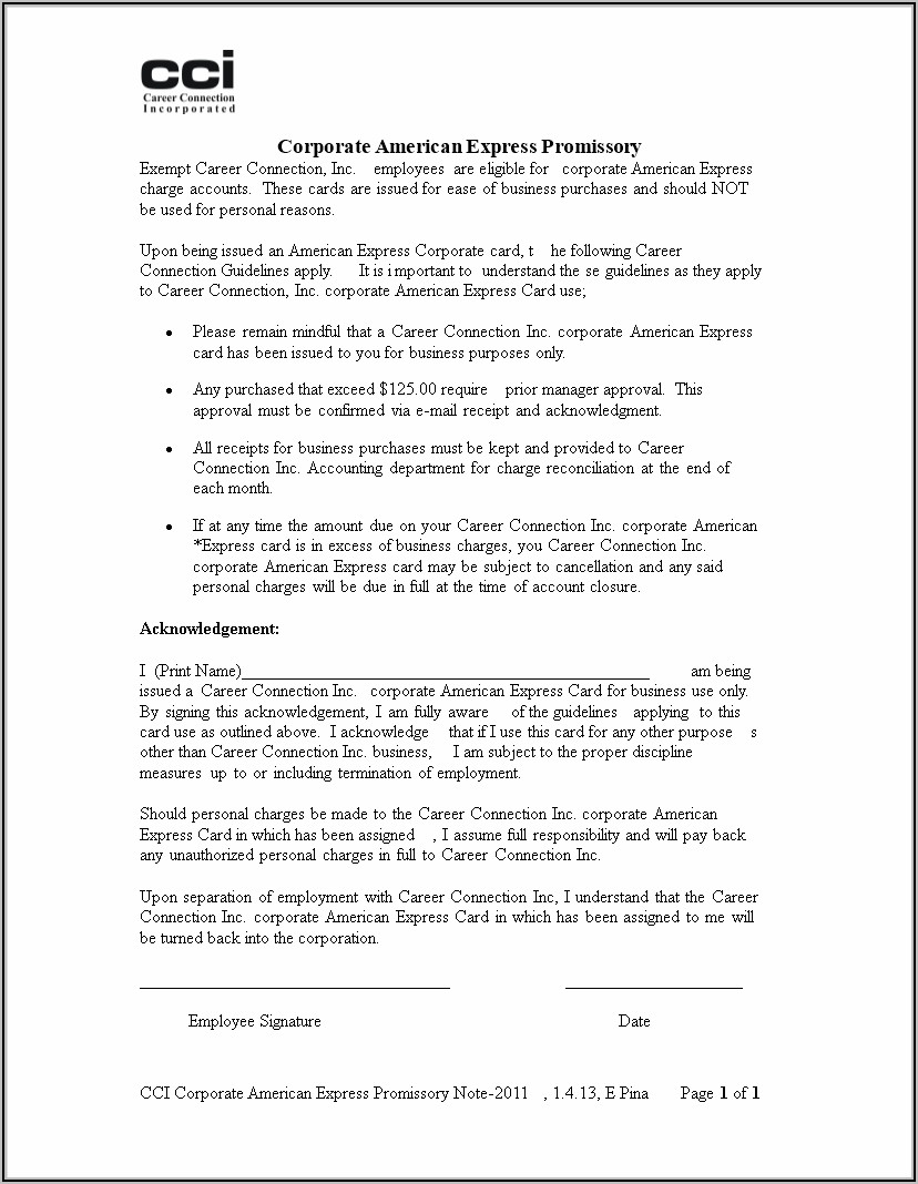 Promissory Note Templates