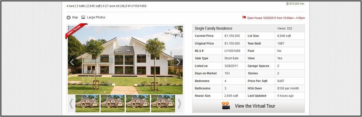 Real Estate Agent Website Templates Idx