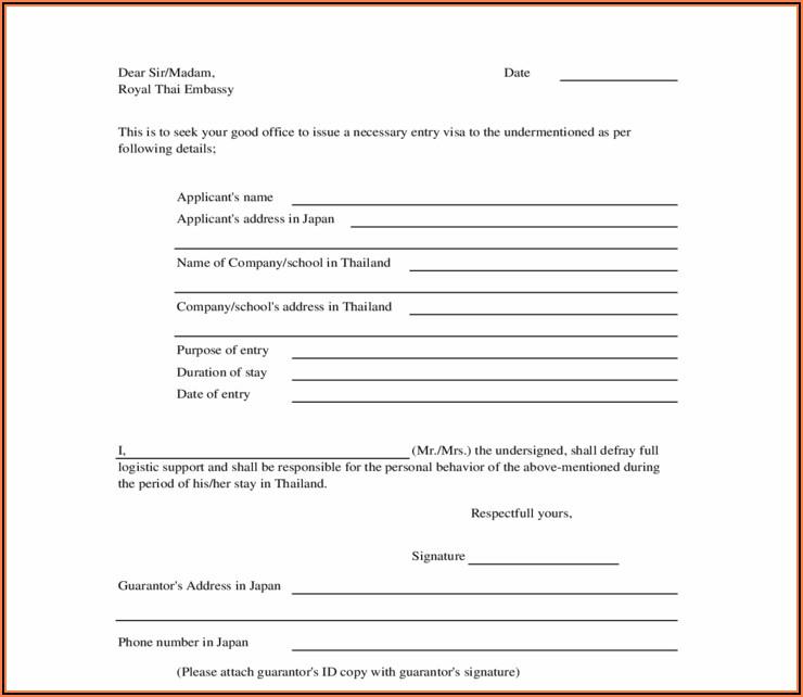 Rental Guarantor Form