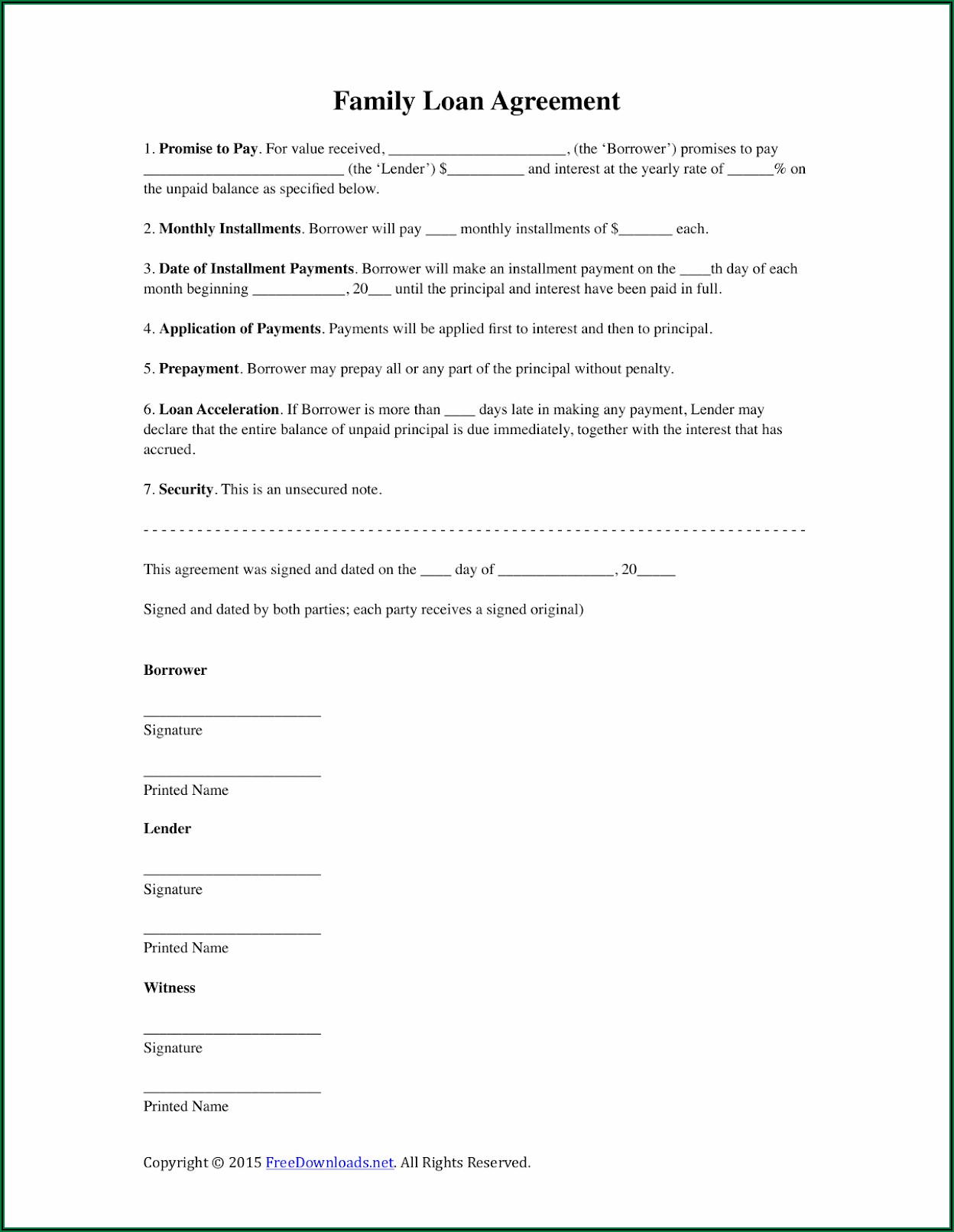 Secured Promissory Note Template Uk