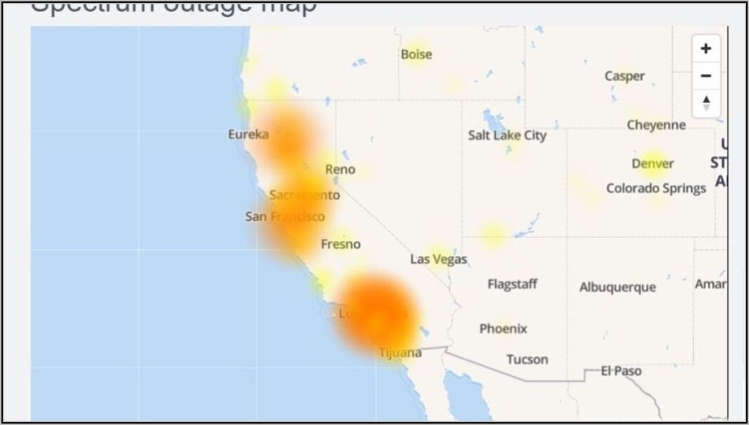 Spectrum Internet Outage Map El Paso