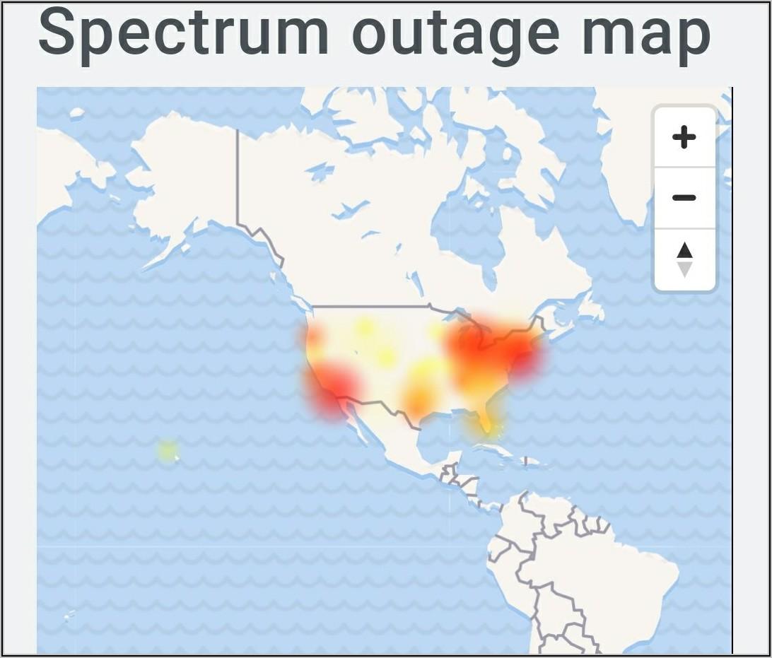 Spectrum Internet Outage Map San Diego