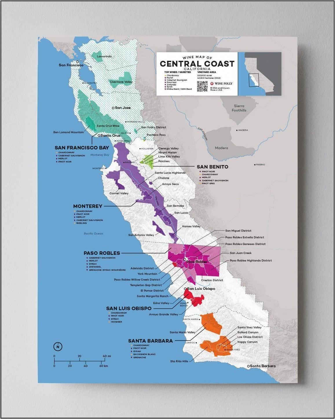 Temecula Wineries Map 2019
