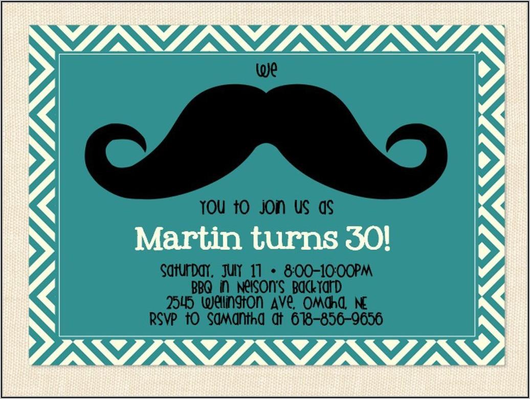 Templates For 50th Birthday Invitations