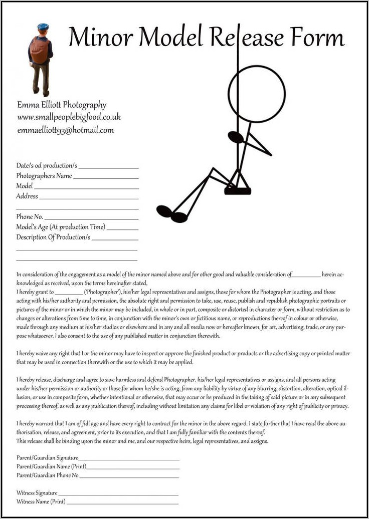 Temporary Child Custody Letter Template