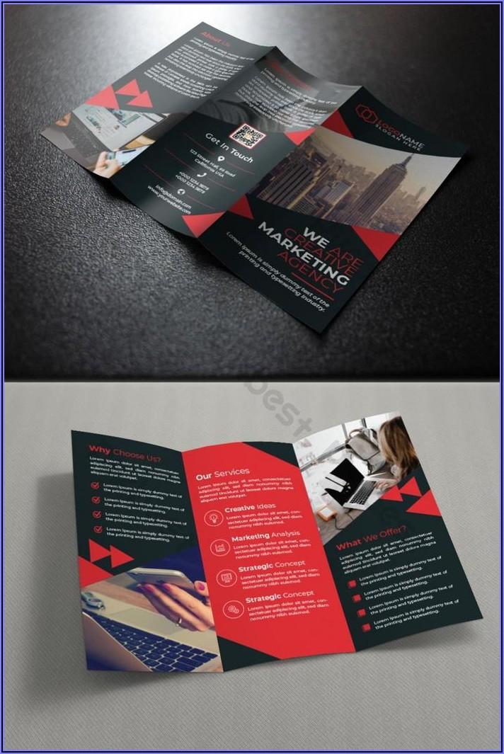 Tri Fold Brochure Template Free Download