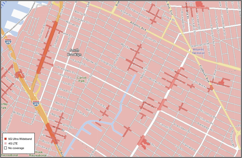 Verizon 5g Home Coverage Map Chicago