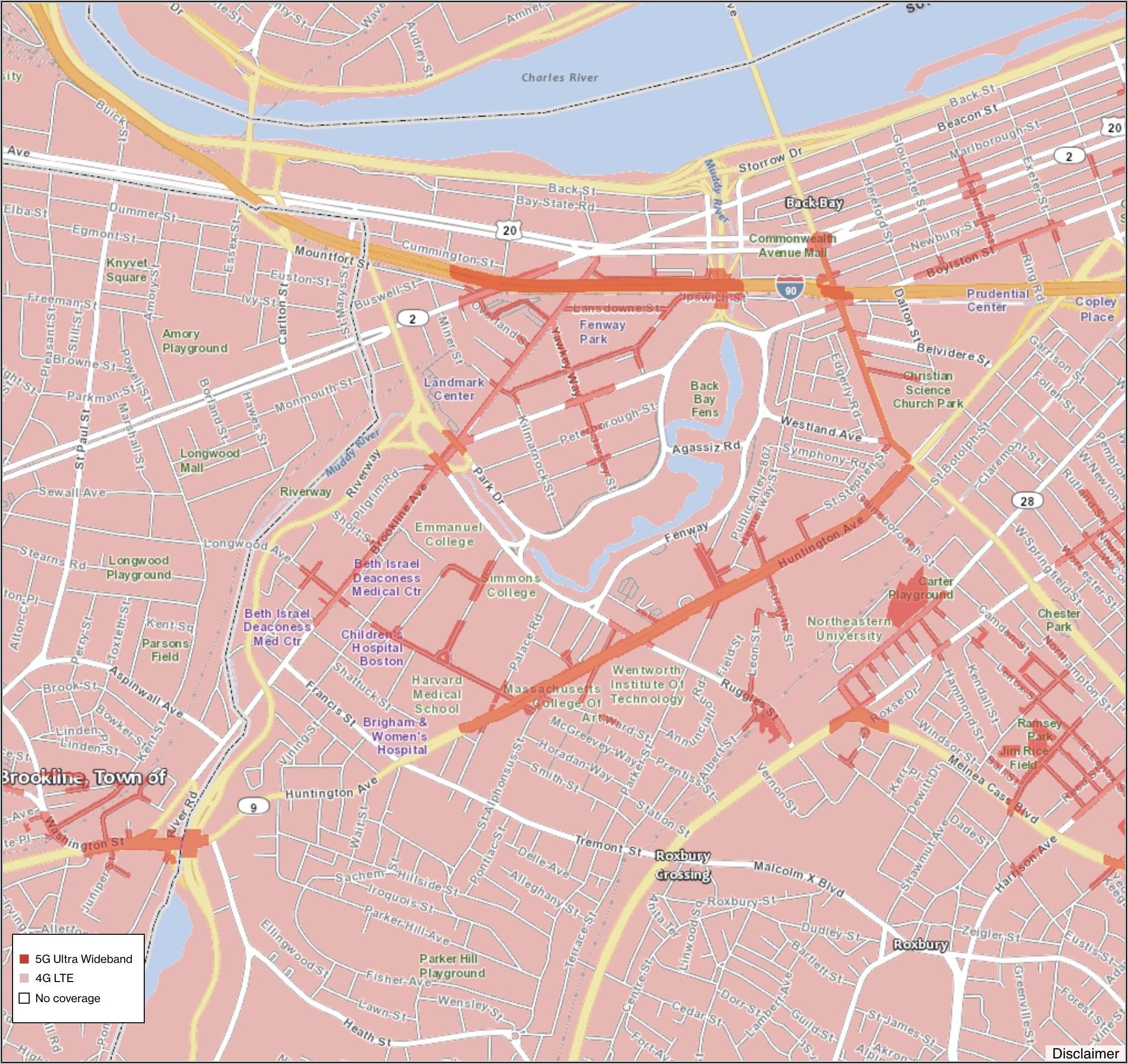 Verizon 5g Home Houston Coverage Map