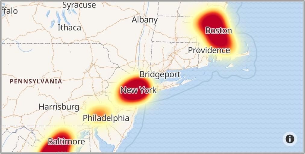 Verizon Fios Outage Map Albany Ny