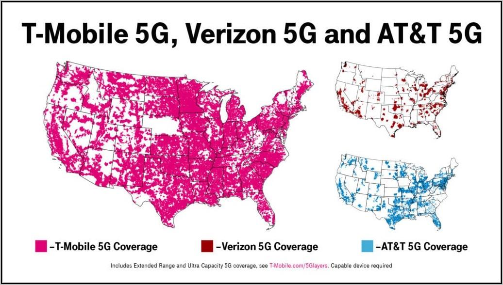 Verizon Wireless 5g Service Map