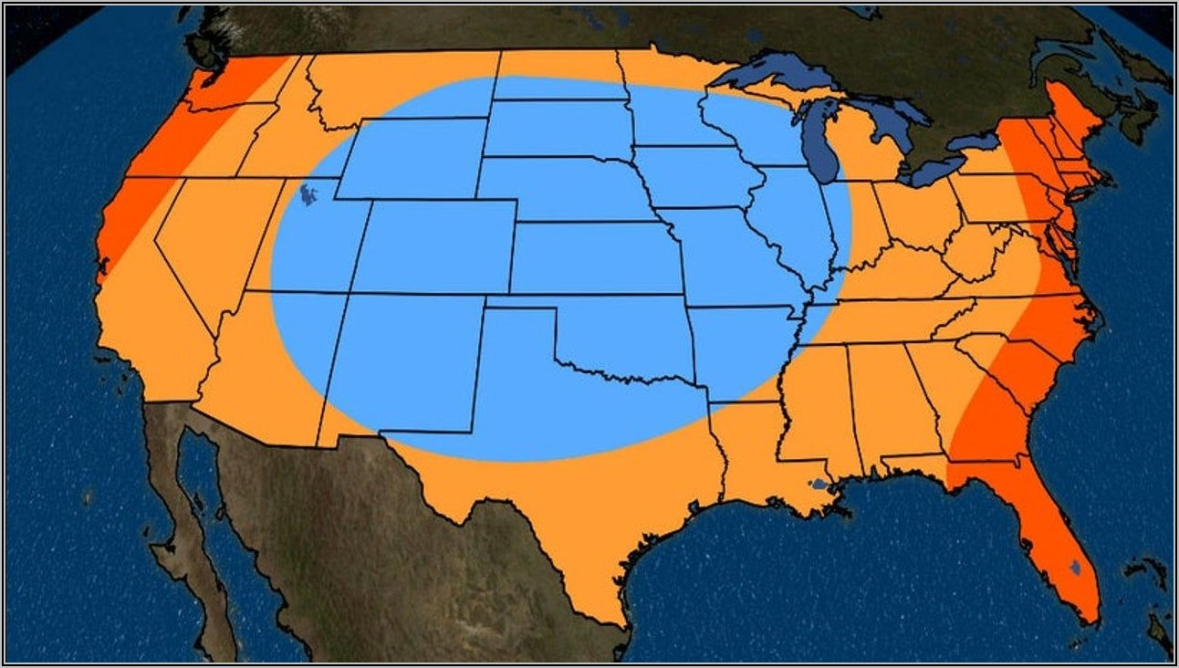 Weather Channel National Radar Map