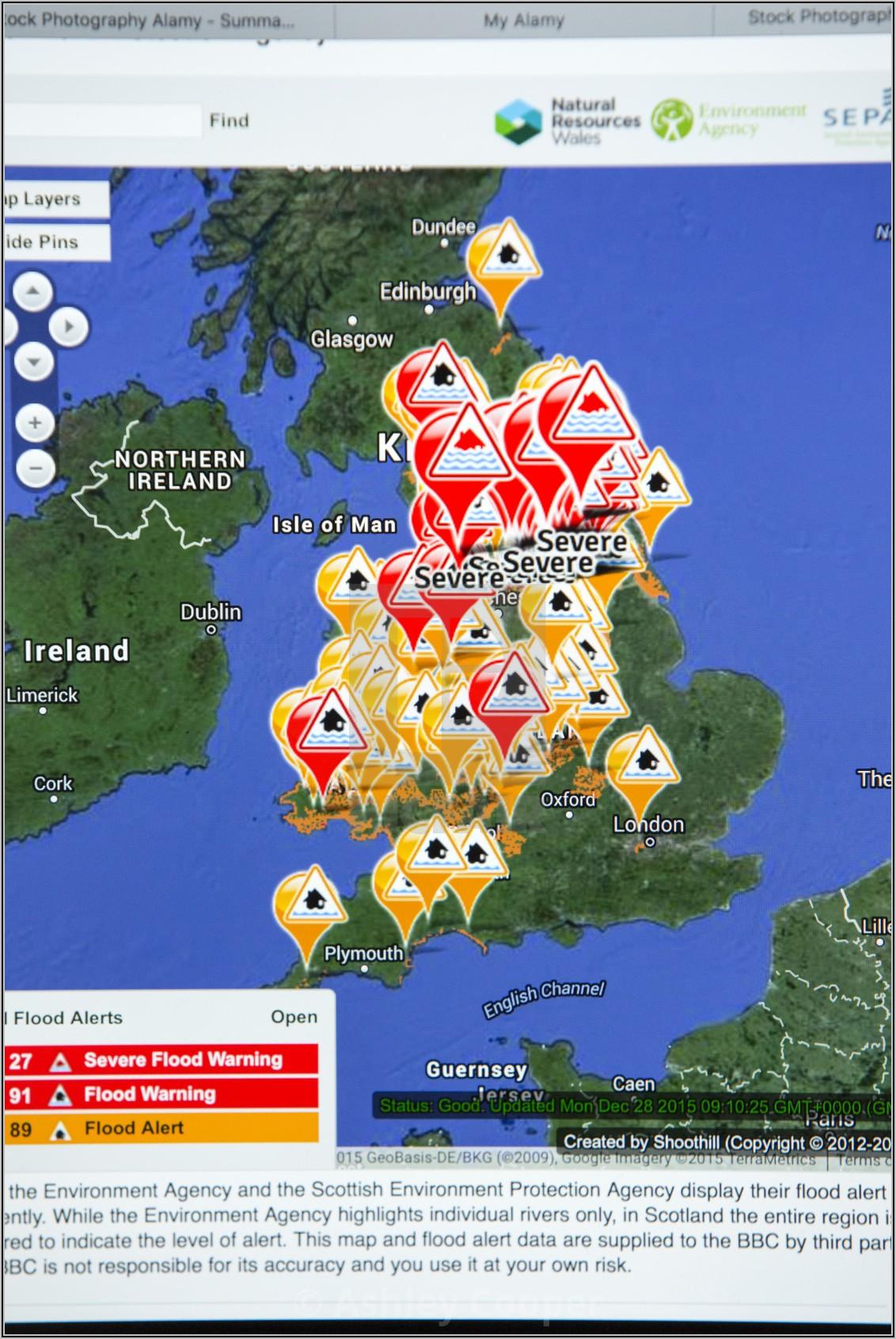 Weather Forecast Map Uk