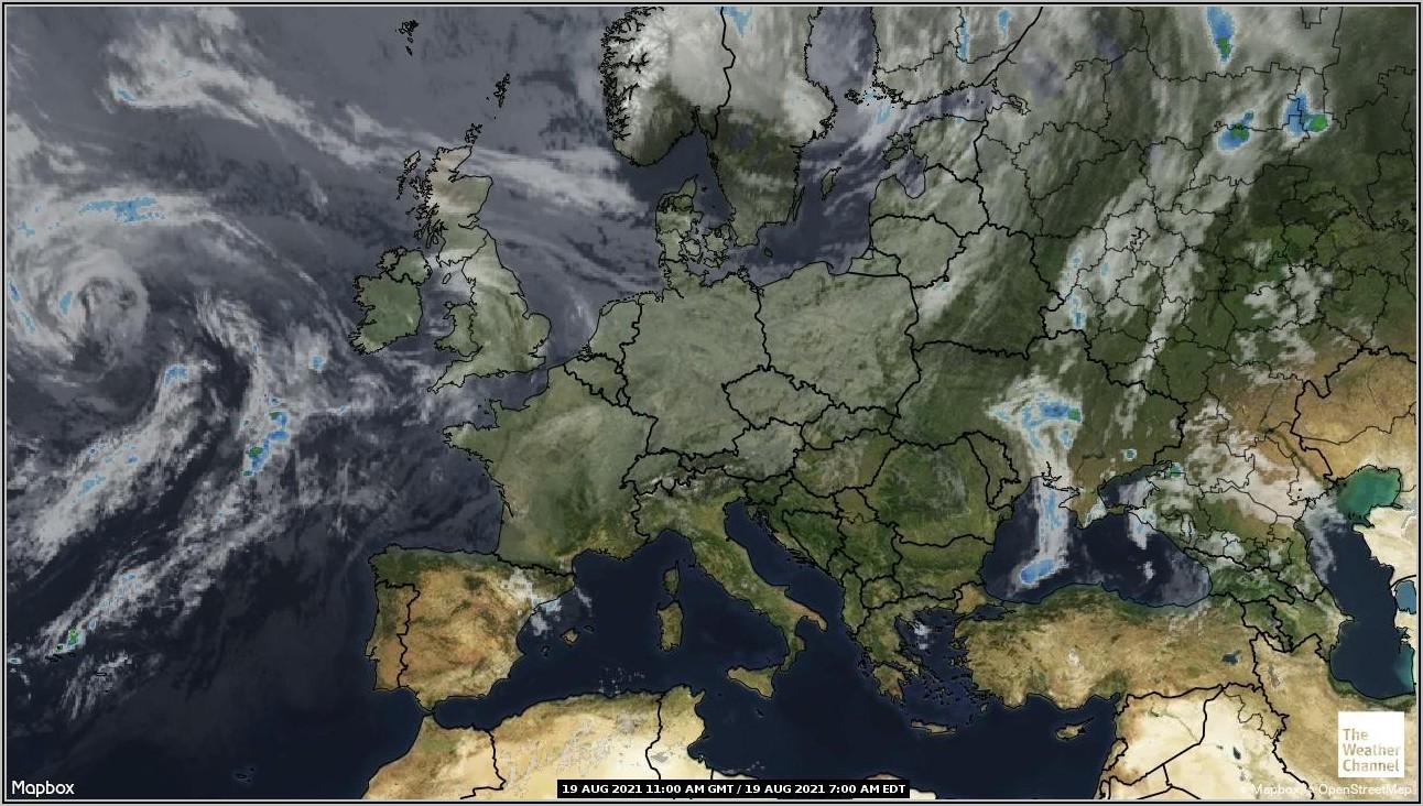Weather Forecast Radar Map Europe