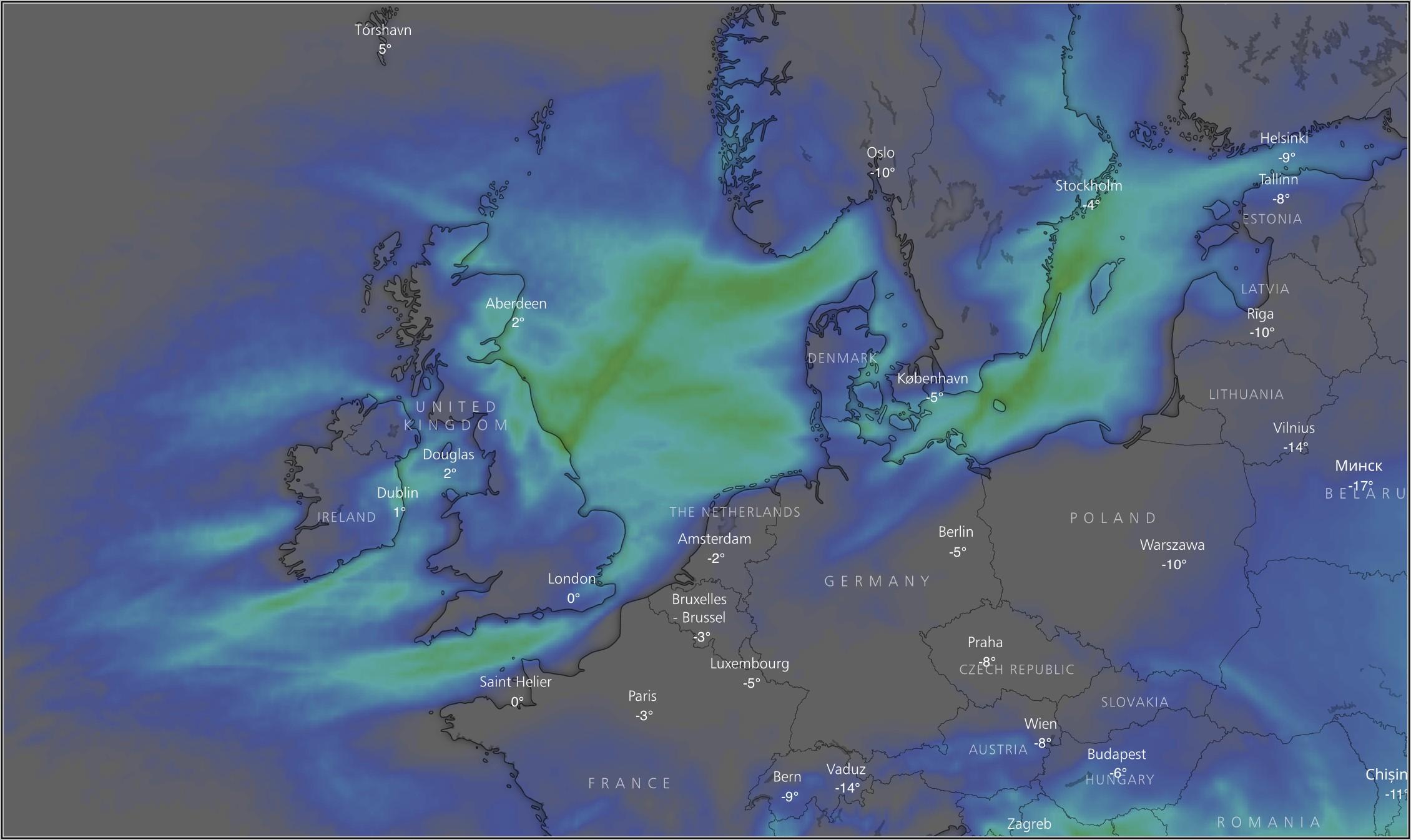 Weather Forecast Radar Map Uk